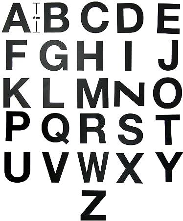 Klebebuchstaben Großbuchstaben  Wandtattoo   Buchstaben zum ...