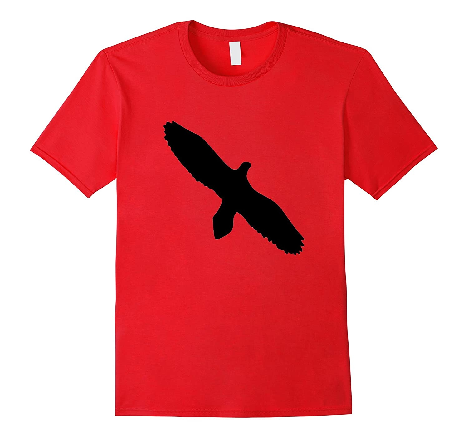 Flying Eagle Hawk Silhouette Nature Outdoors Unisex Shirt-TH