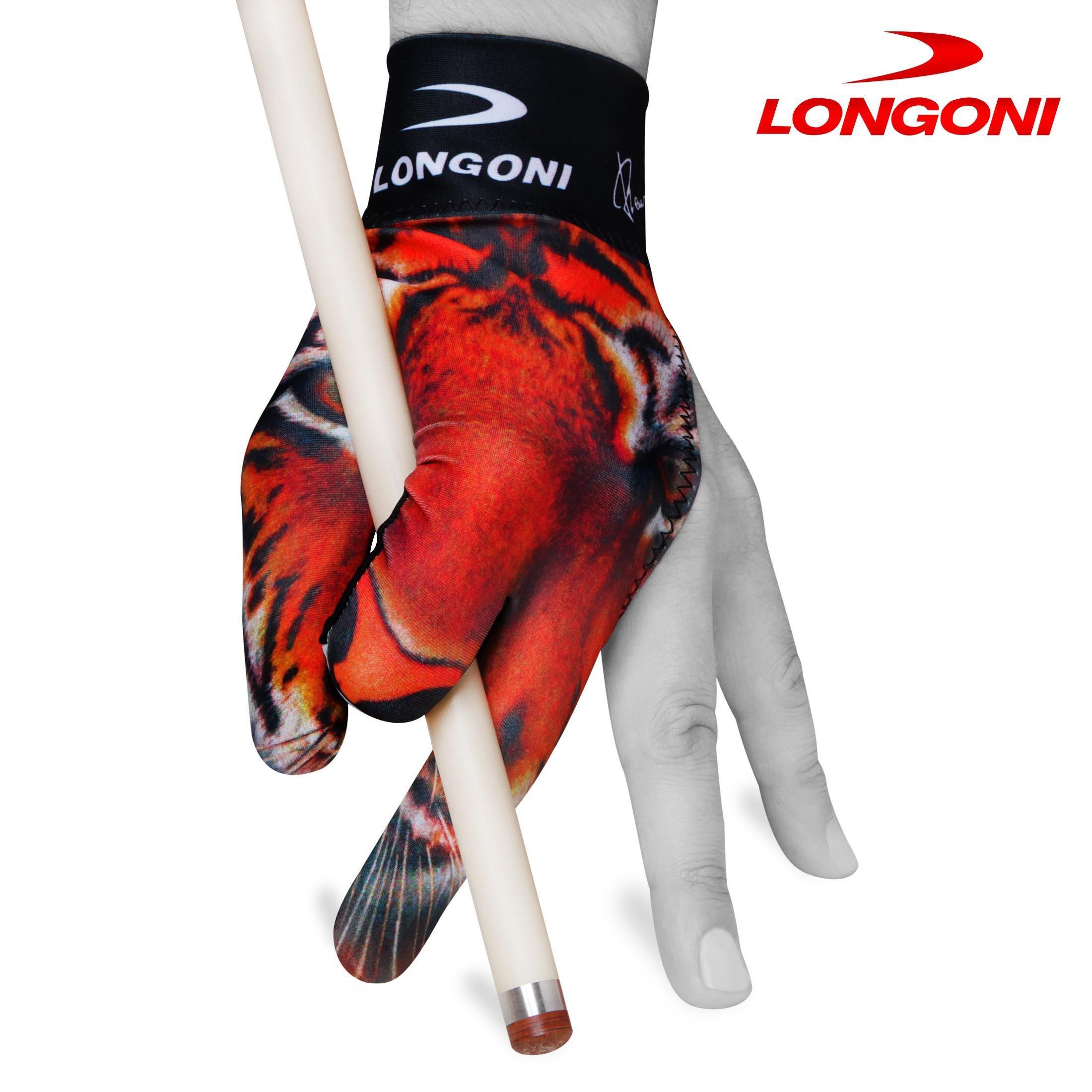LONGONI Billiard POOL CUE GLOVE Tiger for Left hand
