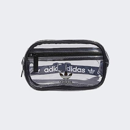 adidas Originals Originals Clear Waist Pack, Black, One Size: Amazon.es: Deportes y aire libre