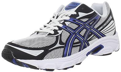 outlet store 51d63 01d6c ASICS Men s GEL-Galaxy 5 Running Shoe,White Royal Blue Black,