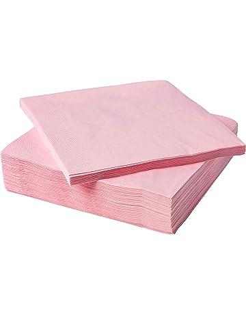 Serviettes En Papier Fantastisk Rouge 24X24Cm 50 Pi/èces Ikea