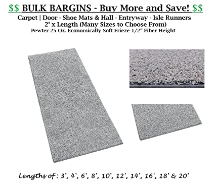 amazon com bulk bargains pewter carpet door shoe mats hall
