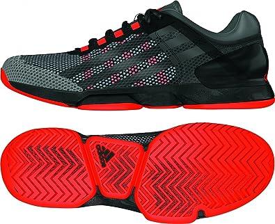 best sneakers 8a2cb acf84 adidas - Adizero Ubersonic Clay Men s Tennis Shoes (Black red) - EU 41 1 3  - UK 7, 5  Amazon.co.uk  Shoes   Bags