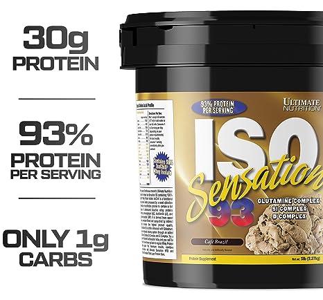 Ultimate Nutrition ISO Sensation 93-5 lbs (Cafe Brazil)