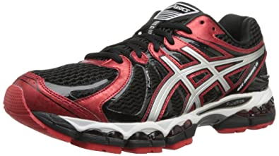 ASICS Men's Gel Nimbus 15 Running Shoe,BlackSilverRacer