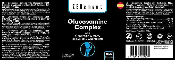 Glicozamina complexe de capsule complexe recenzii cum simptomele durerii articulare la șold