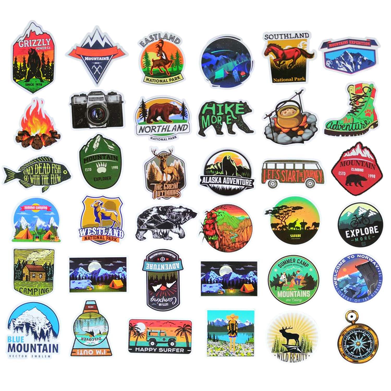 Stickers Calcos 50 Un. Surtidos Origen U.s.a. (7s6znzkm)