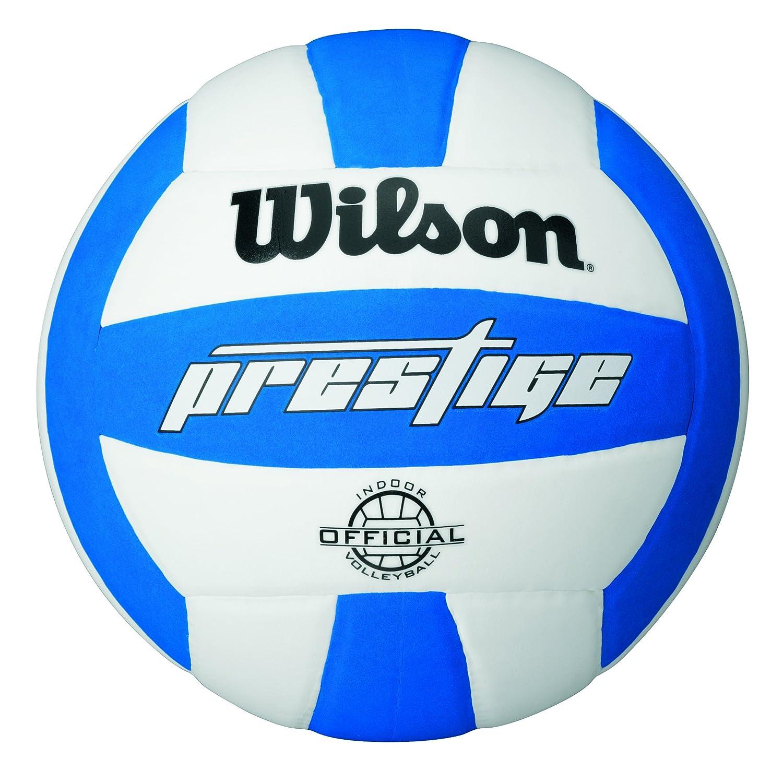 Wilson Prestige - Balón, Color Blanco/Azul, Talla única Wilson Teamsport WTH3905ID