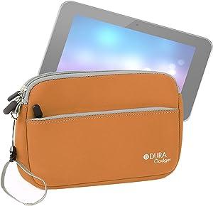 "DURAGADGET Soft Orange Neoprene Cover - Compatible with Lenovo Miix 2 | Yoga 8"" | IdeaTab A8-50 (A5500) & HP Slate 8 Pro"