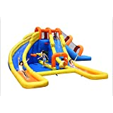 Bounceland Big Splash Dual Slides and Pool Water Park Triple