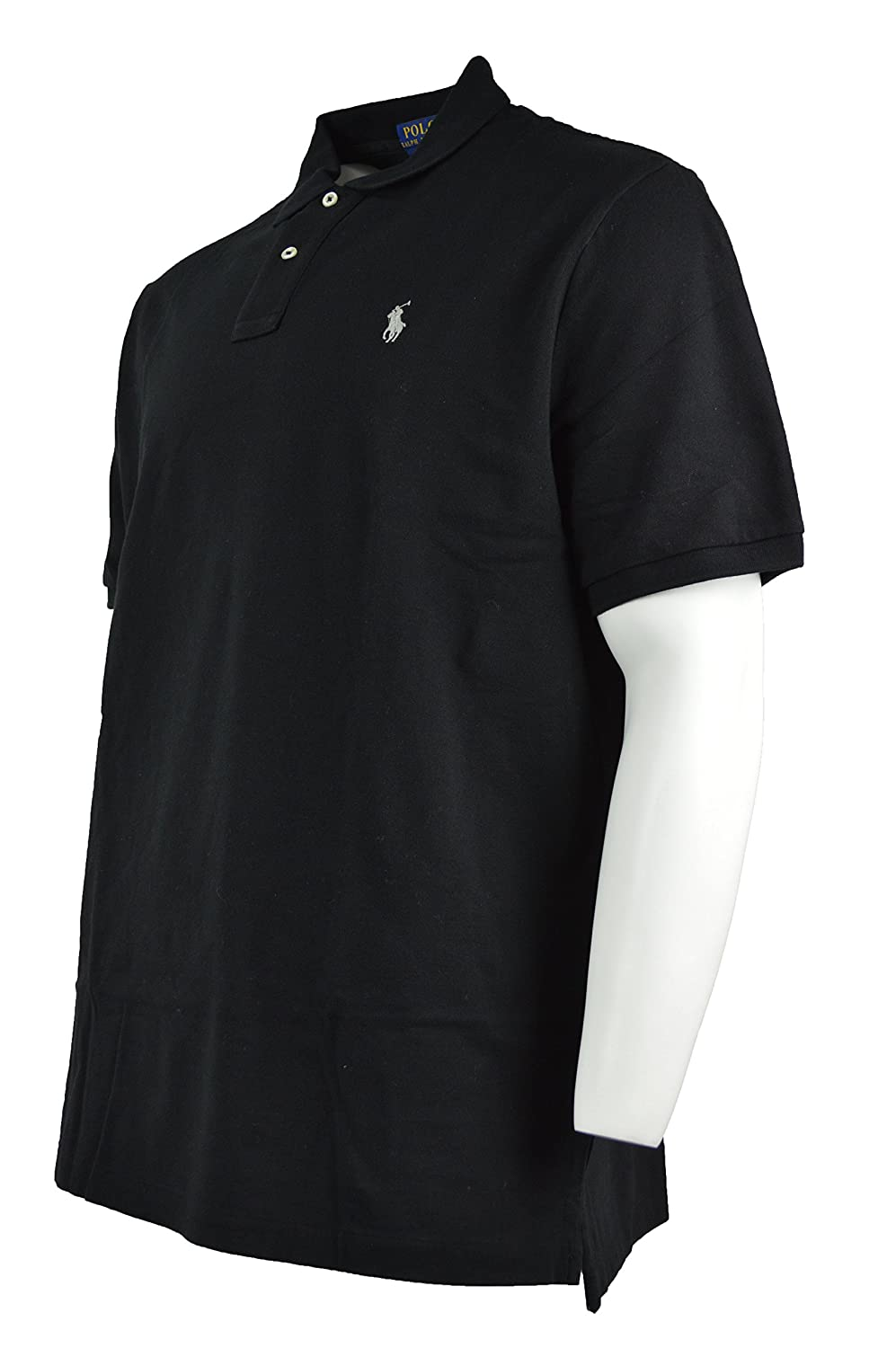 cf3e57e833aa7 Amazon.com  Polo Ralph Lauren Mens Original Mesh Black Cotton Polo Shirt  (XL)  Home   Kitchen