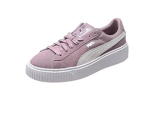 super popular 69650 4141f Puma Women's Suede Platform Low-Top Sneakers