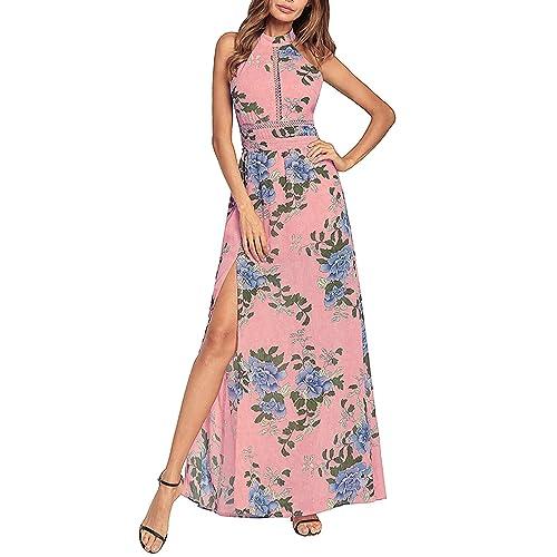 Pink Summer Maxi Dresses