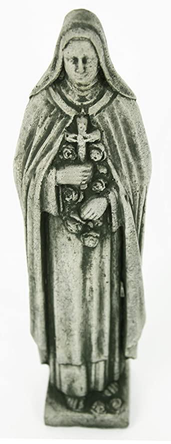 St Theresa Ornamental Concrete Statue Religious Garden Sculpture