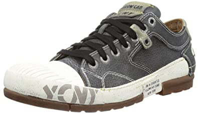 new concept 432ea 76117 Yellow Cab Mens MUD M Low Black Black Size: 13: Amazon.co.uk ...