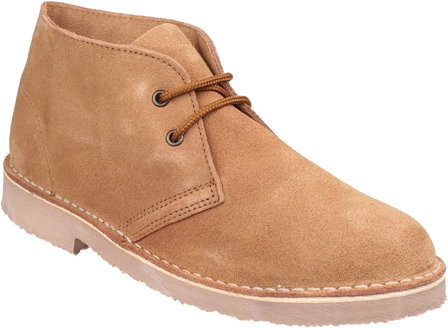SAHARA Unisex Suede Fort Worth Import Mall Desert Boots Leather