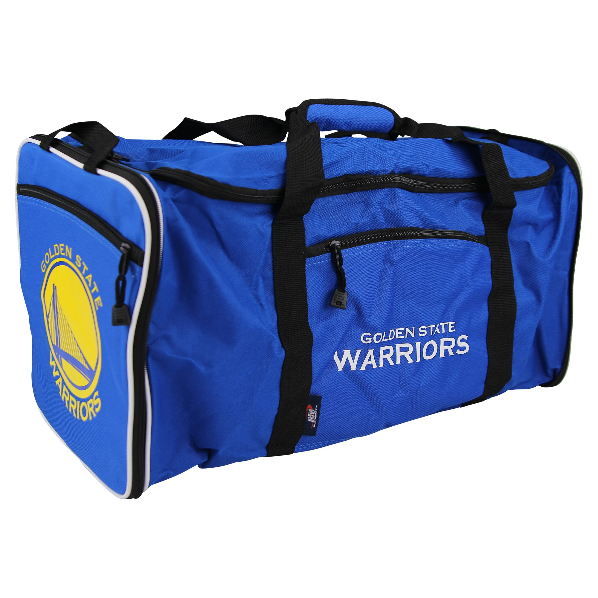 The Northwest Company NBA Team Logo Extended Duffle Bag (Golden State Warriors)