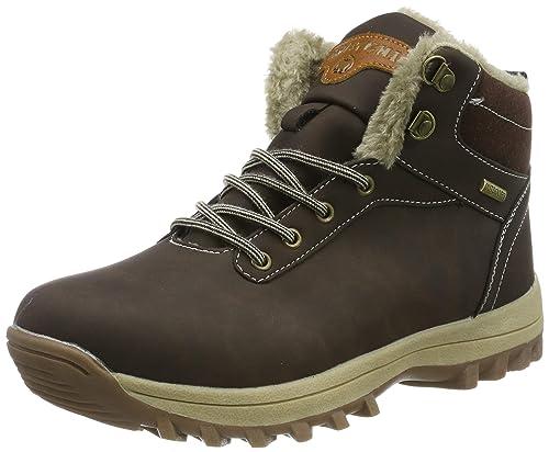 ee2376adaf48d Pastaza Hombre Mujer Botas de Nieve Senderismo Impermeables Deportes  Trekking Zapatos Invierno Forro Piel Sneakers  Amazon.es  Zapatos y  complementos
