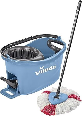 Wischmop und Eimer mit PowerSchleuder Vileda EasyWring /& Clean Komplett-Set