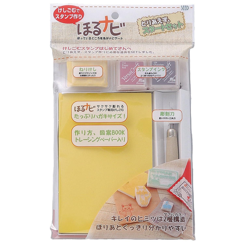 Eraser Stamp Kit HORUNAVI (Japan Import) seed KH-HNT