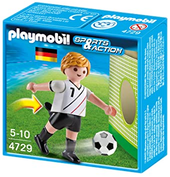 Playmobil Fussball Figur Fussballer Fussballspieler