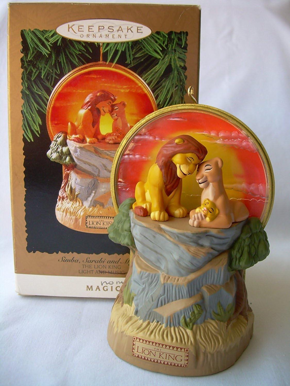 Hallmark 2019 DISNEY THE LION KING 25th Anniversary Magic Ornament