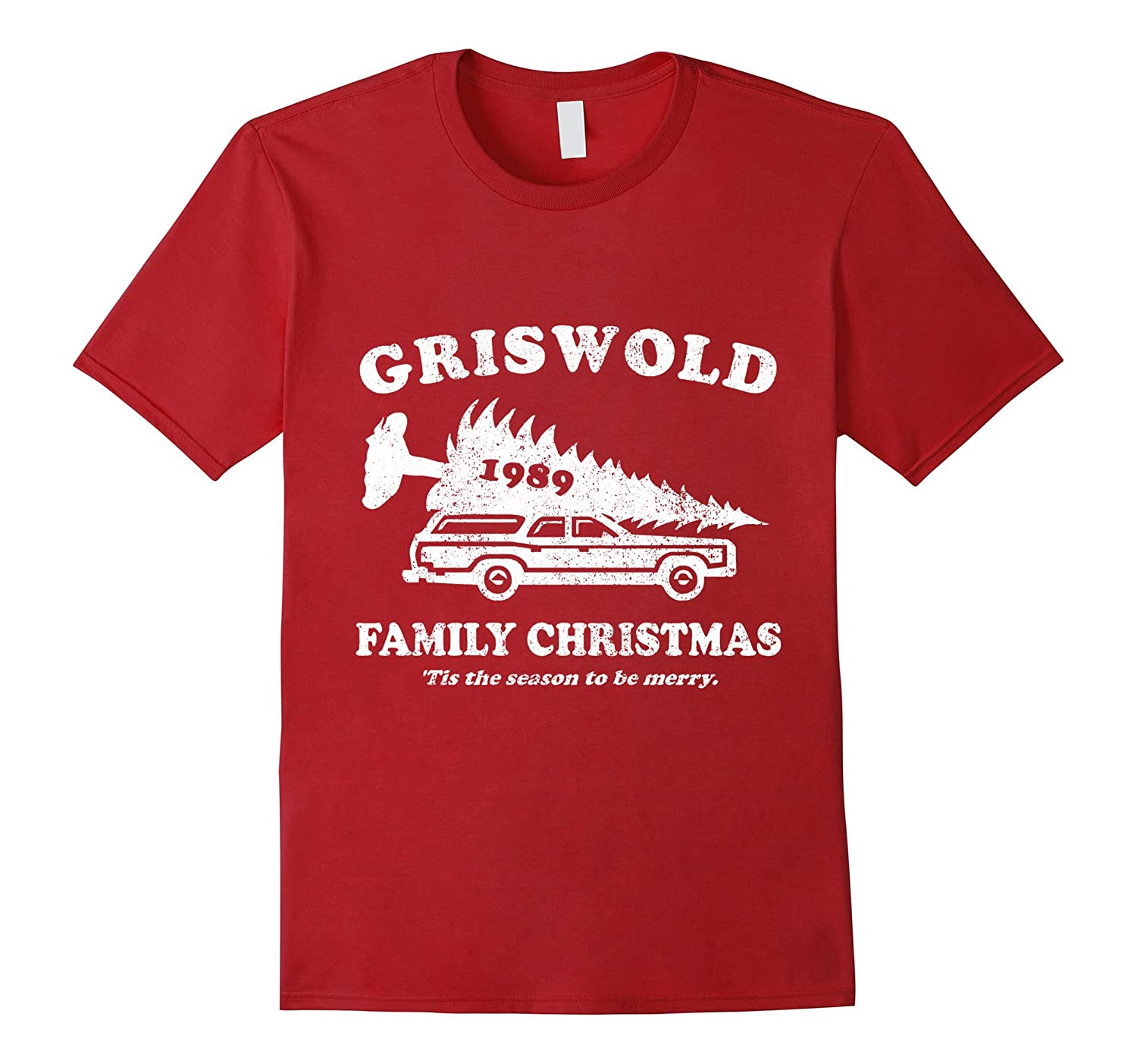 Griswold Family Christmas 1989 T-Shirt-RT