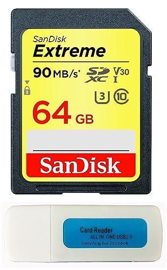 Amazon.com: SanDisk 64 GB Extreme Tarjeta de memoria para ...