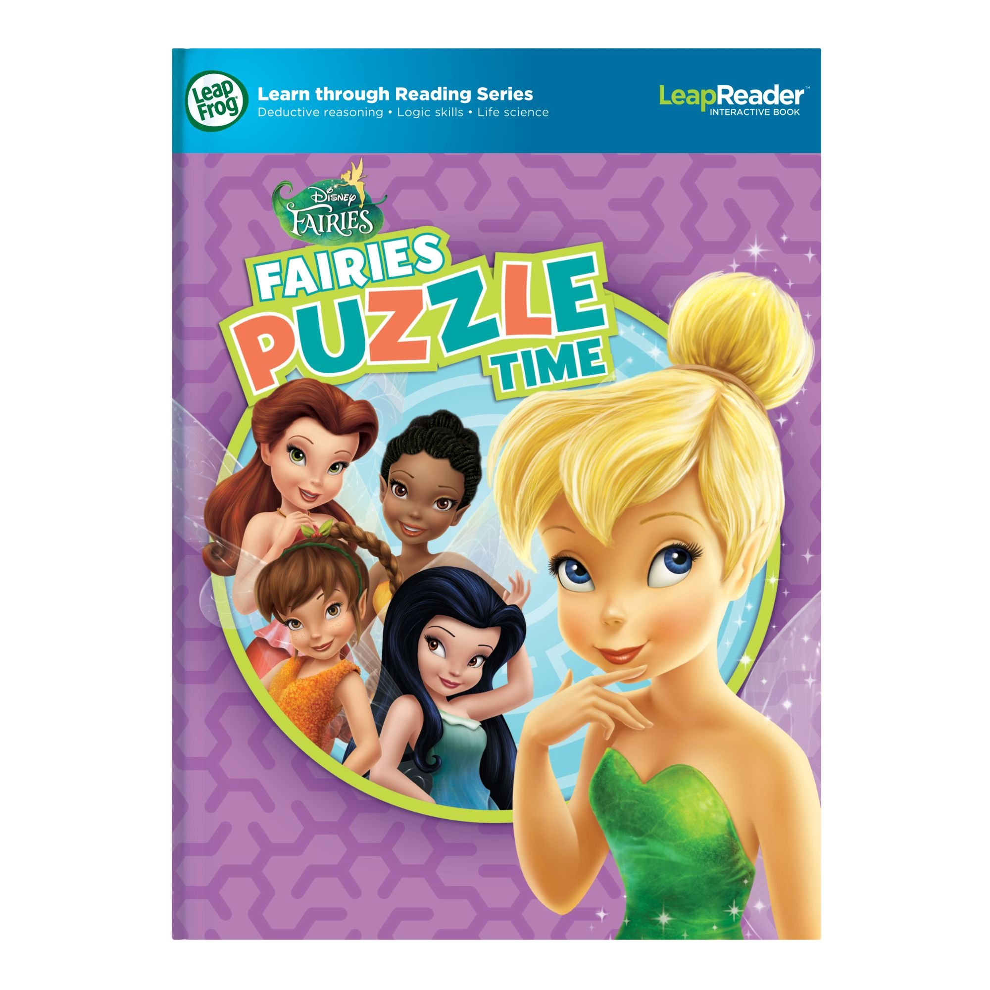 LeapFrog LeapReader Book: Disney Fairies Puzzle Time (works with Tag) by LeapFrog (Image #7)