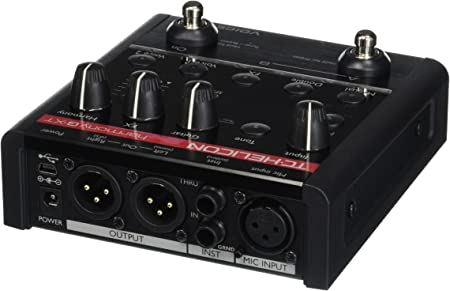 side facing tc helicon harmony-g xt vocal processor