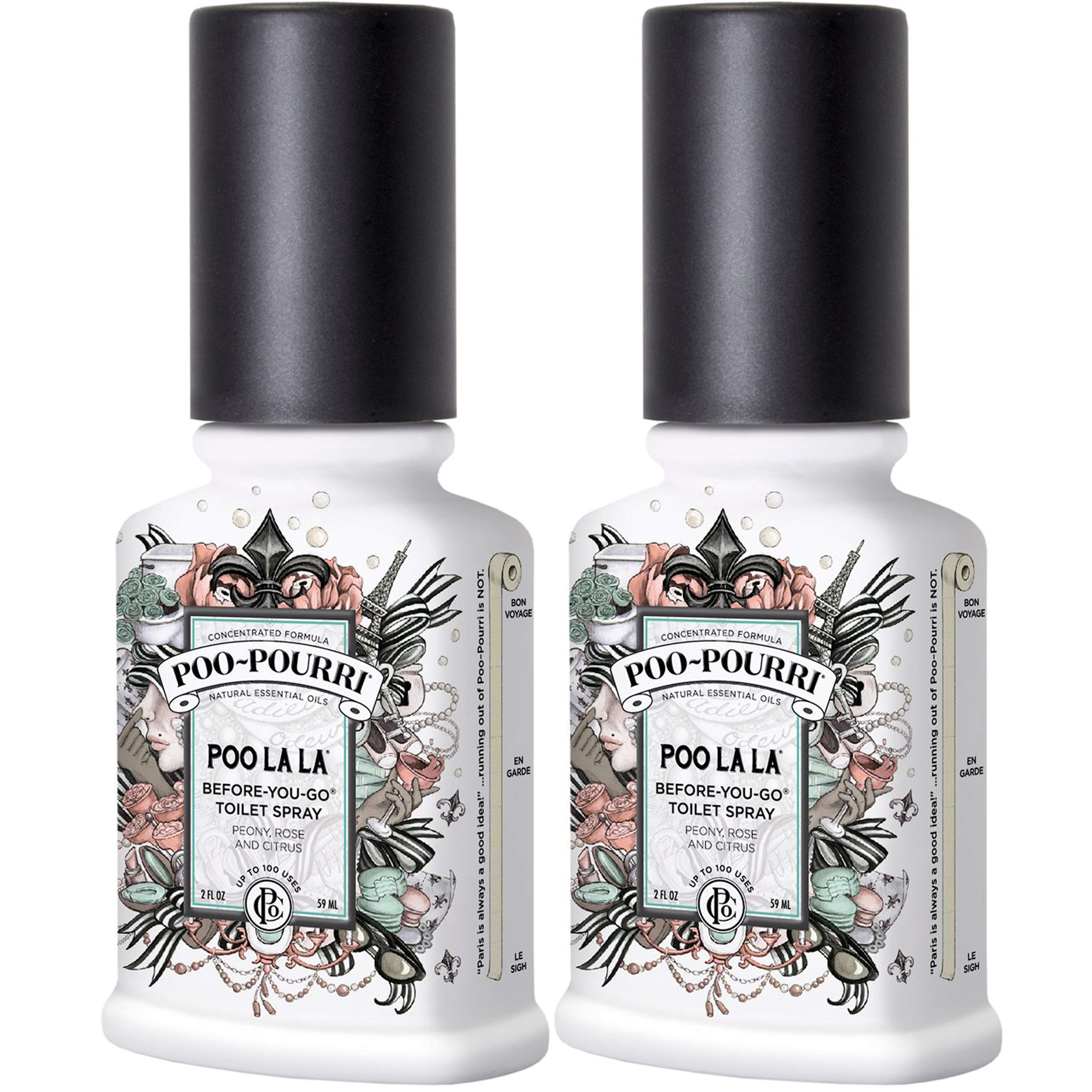 Poo-Pourri Poo La La Before-You-Go-Toilet Spray - 2-Ounce, 2 Pack by Poo-Pourri (Image #1)