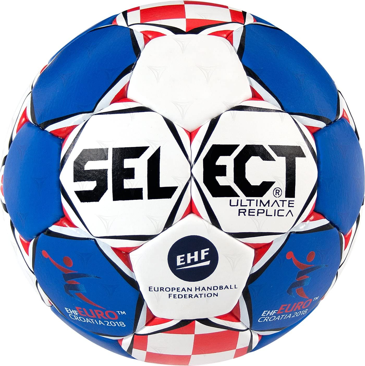 SELECT Ultimate Replica Unisex ehf Euro 2018 de Balonmano, Color ...