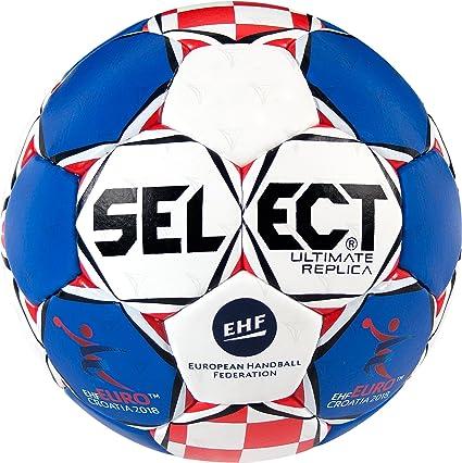 Select Ultimate Replica Unisex ehf Euro 2018 de Balonmano, Color ...