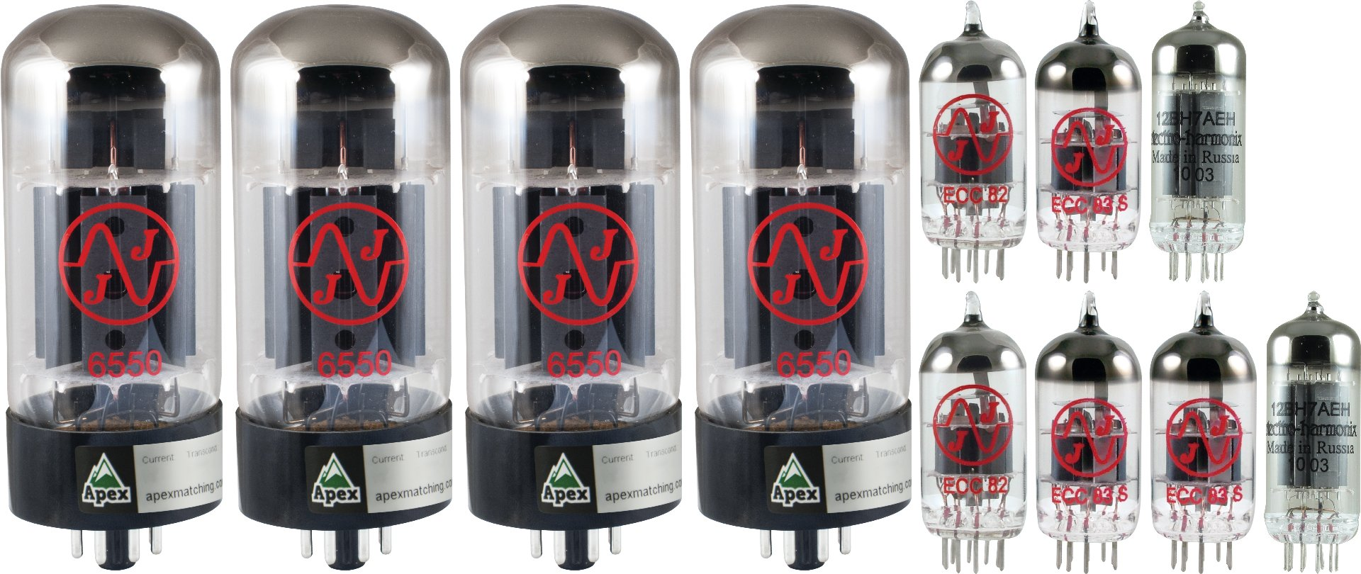 Tube Complement for McIntosh MC-275
