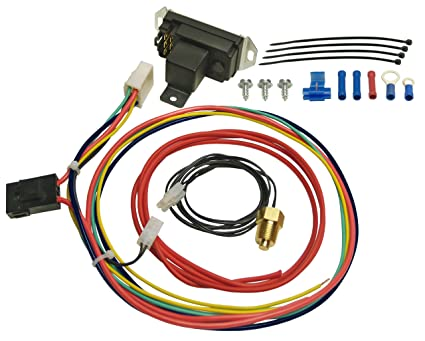 amazon com derale 16749 adjustable fan controller automotive rh amazon com  derale dual fan controller wiring diagram