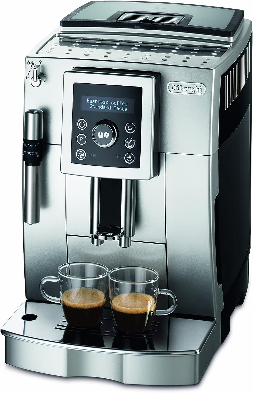 DeLonghi ECAM 23.426.SB - Cafetera automática, color plateado: Amazon.es: Hogar