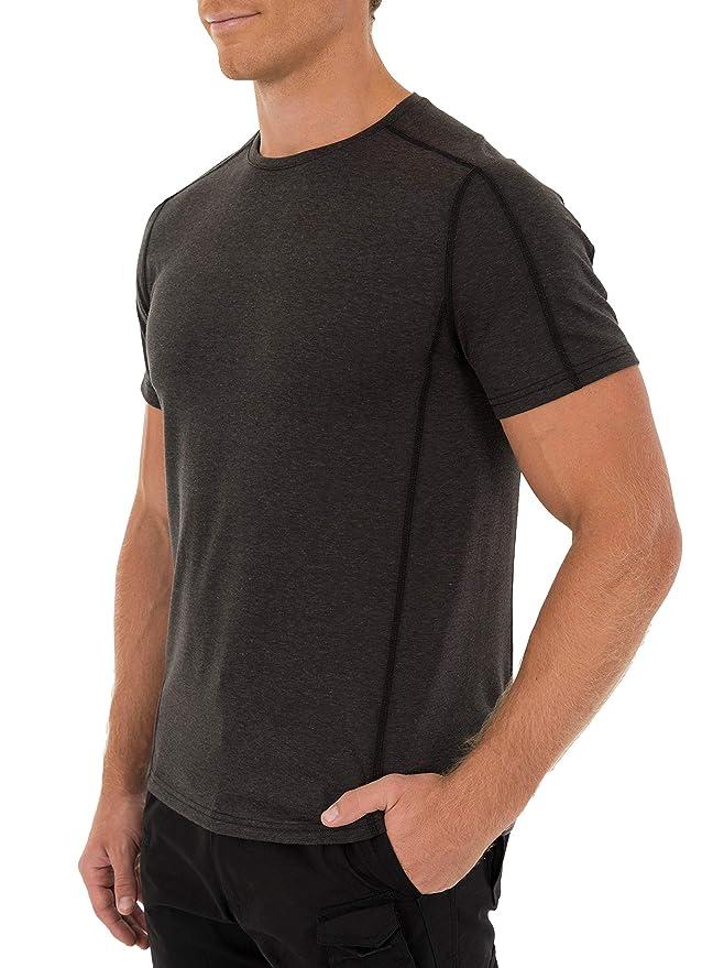 Intratec Men's Outdoor Crew Neck Stretch Short Sleeve Tee