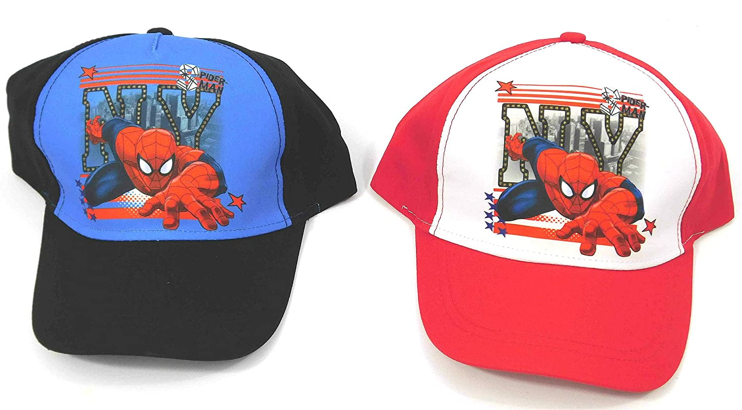 dba5f097fd232f Marvel Childrens Kids Baseball Cap Hat - Spiderman - Snapback:  Amazon.co.uk: Clothing