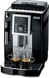 DeLonghi ECAM23210 Compact Magnifica S Super-Automatic Espresso Machine Beverage Center (Black)