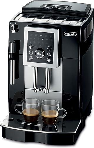 DeLonghi ECAM23210 Compact Magnifica S Super-Automatic Espresso Machine Beverage Center Black Renewed