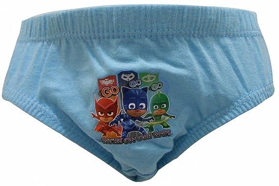 PJ Masks Super Owl Wings Boys 6 Pack Briefs Underpants 2-3 Years