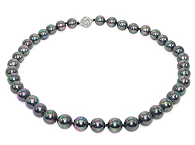 Modeschmuck perlenkette magnetverschluss