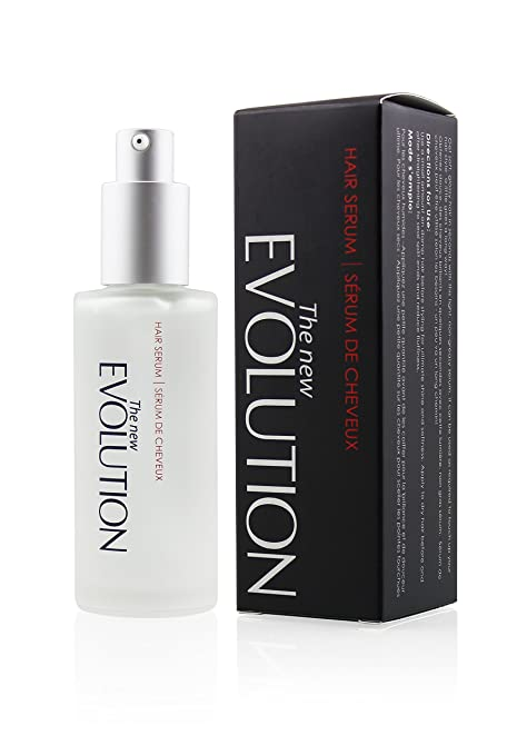 Evolution Argan Oil Hair Serum with Aloe Vera and Vitamin E, 2 Fl. Oz/ 60 Ml. (1 Pack)
