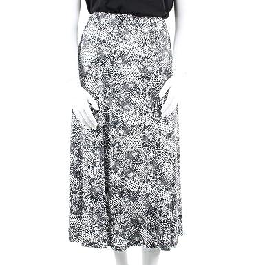 9c0f79c44f39b8 EMILY CLOTHING Jupe Longue Grande Taille Femme Ceinture Elastique ...