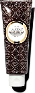 product image for LALICIOUS Sugar Coconut Body Butter - Hydrating Body Moisturizer with Shea Butter, Cucumber Extract & Apricot Oil, No Parabens (8 Ounces)