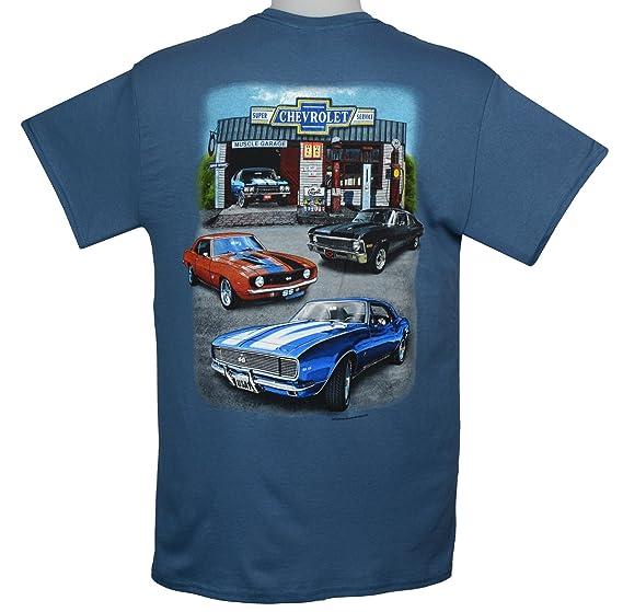 Amazon Com Chevy Camaro Nova Chevelle Muscle Cars T Shirts