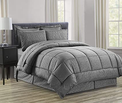 b836736b2e2 Elegant Comfort Luxury Bed-in-a-Bag Comforter Set on Amazon Wrinkle  Resistant
