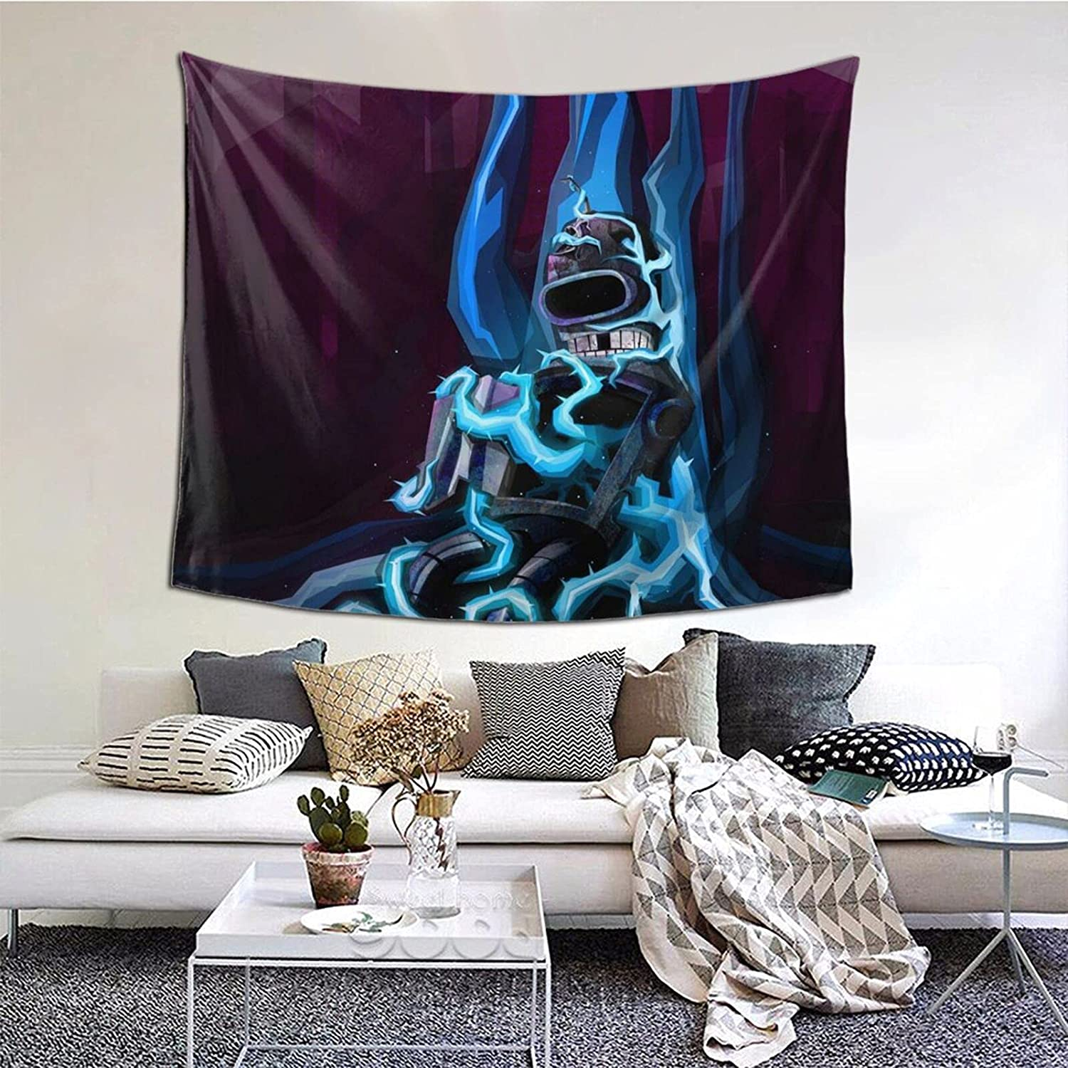 Futurama Fallen Bender Tapestry Wall Hanging Home Decor Art For College Dorm Bedroom Living Room Home Decor 60x50 Inches