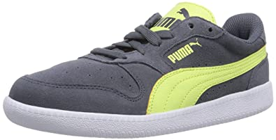 Puma Men's Icra Trainer SD Turbulence-Sharp Green Leather Running Shoes - 6  UK/